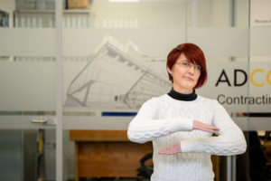 Anita Joyce, Buyer, ADCO Contracting - International Women's Day