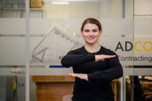 Mairead Luttrell, International Womens Day, ADCO Contracting Image